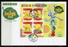 Palau Disney A Bugs'S Life 1998 Sheet Ii Of Four First Day Cover