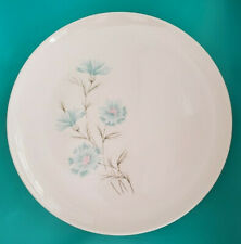 Vintage Taylor Smith Taylor Blue Flower Ever Yours Boutonniere Dinner Plates