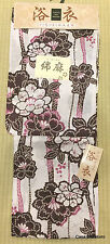 Yukata giapponese Kimono estivo cotone lino standard size mod.C3