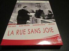 Dvd nf LA RUE SANS JOIE Dita PARLO Albert PREJEAN Marguerite DEVAL / Andre HUGON