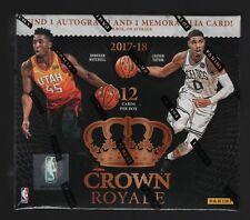 IN STOCK 2017-18 Panini Crown Royale Basketball Sealed Hobby Box 2 Hits Per Box