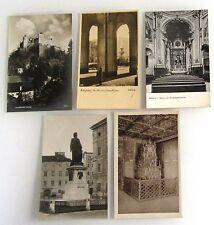5x SALZBURG ca. 1920/30 Österreich alte Postkarten Lot ungebraucht ungelaufen