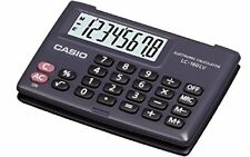 Casio Lc160lv 8-digit Pocket Calculator Mémoire Indépendante