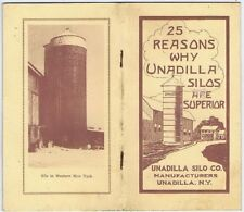 25 Reasons Why Unadilla Silos Are Superior, Unadilla Silo Co. 1910's-1920's