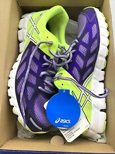 GEL LYTE Asics Womens Running Shoes Size 9 EURO 40.5 Yellow and Purple
