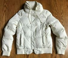 Juicy Couture Down Winter Jacket Girls Size M White Puffer Coat