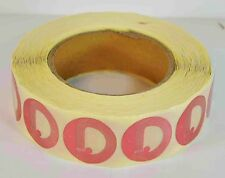 Eas Anti-Theft Security Checkpoint Red Round Soft Tag Rf 8.2Mhz 1000Pcs