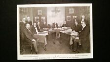 Corte d'Arbitrato de L'Aia - Inaugurazione della sala riunioni Stampa del 1902