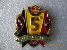 Hard rock cafe Brussels - 5th Anniversary pin