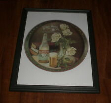 White Rose Beer Framed Color Ad Print - Dallas Brewery