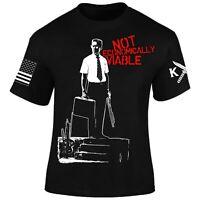 Falling Down T-Shirt I Patriot I Veteran I Not Economically Viable I Military