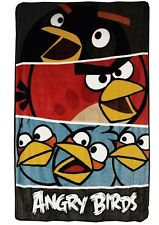 Angry Birds Twin/Full Micro Raschel Blanket - 62 in x 90 in