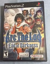 ARC THE LAD End of Darkness PlayStation 2 PS2 -RPG, Rare, Sealed =NEW,3pics