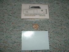 Oddballs decals N Gauge Chicago Great Western 50' PS1 2-42 ptd box car red  H42