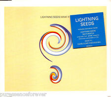LIGHTNING SEEDS - What If... (UK 3 Trk CD Single Pt 2)