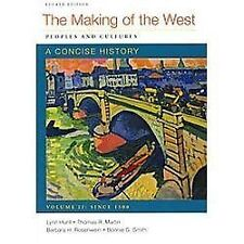 The Making of the West - People and Cultures : A Concise History Volume 2 by...