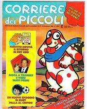 CORRIERE DEI PICCOLI 1988 NR.47 INSERTO - PALLA AL CENTRO PER RUDY -  SMOOSHEES