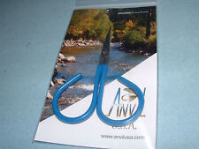 Anvil USA 50-CA Curved Mini Midge Scissors Fly Tying Crafts Sewing Made in USA