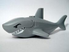 LEGO 8633 - AGENTS - Minifig Animal, Water - Large Shark - Light Gray
