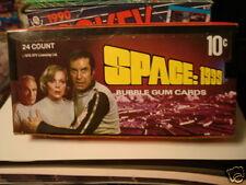 Space 1999 TV series cards rare vintage full 24 packs box 1976