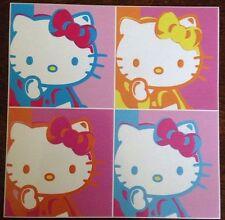 """Hello Kitty Sticker 4""""x4"""""""