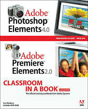 USED (LN) Adobe Photoshop Elements 4.0 and Premiere Elements 2.0 Classroom in a
