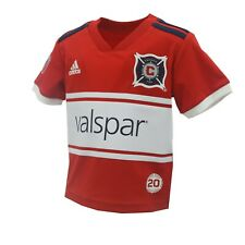 Chicago Fire MLS Adidas Baby Infant Size Athletic Jersey New With Tags