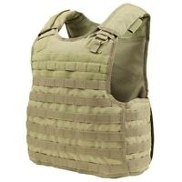 Condor QPC TAN Quick Release Operator Plate Carrier Body Armor Chest Rig