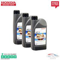 Genuine Honda Manual Transmission MTF-3 Gearbox Oil Fluid - 3 Litres