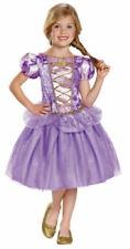 Nwt Girls Size Medium (7-8) Disney Princess Rapunzel Halloween Costume Dress