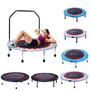 Mini Rebounder Trampoline Exercise Fitness Gym Kids Jump Trainer Aerobic Bouncer