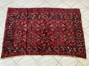 Antique Ersari Beshir Turkoman Chuval Large Size Circa 1900