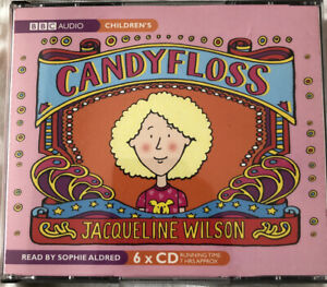 Jacqueline Wilson Candyfloss BBC Audiobook 6xCDs