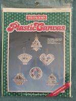 Victorian Ornament Collection Set Of Six Distlefink Designs Plastic Canvas Kit