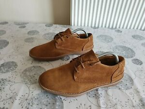 MEN'S TIMBERLAND EARTHKEEPERS SHOES SIZE 8UK brown suede