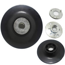 "M14 Thread 115mm Plastic Backing Disc Pad, For 4 1/2"" Angle Grinder Sander Fibre"