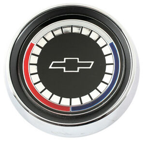 NEW Trim Parts Wood Wheel Horn Button Assembly / FOR 1965 CHEVELLE MALIBU / 4200