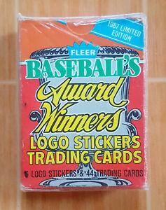 VINTAGE SEALED BOX 1987 Fleer Baseball Award Winners COMPLETE SET BASEBALL CARDS