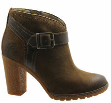 Timberland Zip Ankle 100% Leather Boots for Women