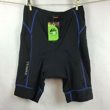 VEOBIKE Sz 2XL Padded Crotch Shorts Bike Cycling Spinning Bicycle Black Spandex