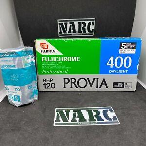 1x Fujichrome Provia 400 daylight Professional 120 film expired film