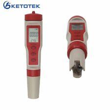 Digital pH TDS Meter EC Tester Temperature Monitor Water Quality Detector Red