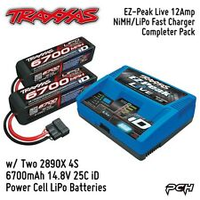 Traxxas 8S Battery/EZ-Peak Live NiMH/LiPo Battery Charger Completer Pack TRA2993