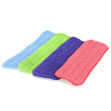 Replacement Microfiber mop Washable Mop head Mop Pads Fit Flat Spray Mops TO