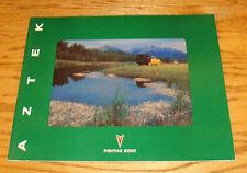 Original 2002 Pontiac Aztek Deluxe Sales Brochure 02