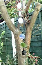 Suncatcher Garden Hanging Mirrors Mobile 2feet Feng Shui WATCH VIDEO
