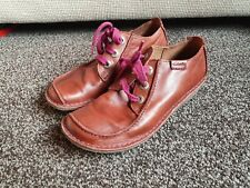 Clarks Funny Dream  Brown Leather Shoes UK 6 D