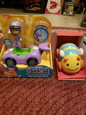 TWO CARS!-BUBBLE GUPPIES Push Car & TOYS FOR TODDLERS Pull & Go Car - Nick Jr.
