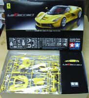 24347   Laferrari Yellow Version Tamiya 1:24 plastic model kit