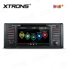 "7"" UI Autoradio mit DAB+ CD DVD GPS NAVI Screen Mirror Bluetooth für BMW 5er E39"